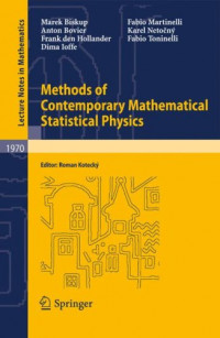 Methods of Contemporary Mathematical Statistical Physics (Lecture Notes in Mathematics)