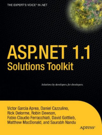 ASP.NET 1.1 Solutions Toolkit