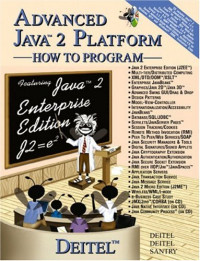 Advanced Java 2 Platform: How to Program (With CD-ROM)