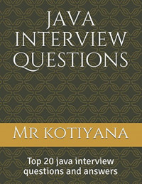 java interview questions: Top 20 java interview programs and answers