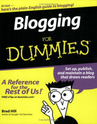 Blogging For Dummies (Computer/Tech)