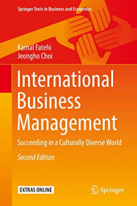 International Business Management: Succeeding in a Culturally Diverse World (Springer Texts in Business and Economics)