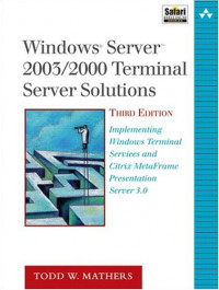 Windows Server 2003/2000 Thin Client Solutions