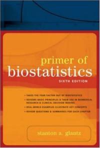 Primer of Biostatistics: Sixth Edition