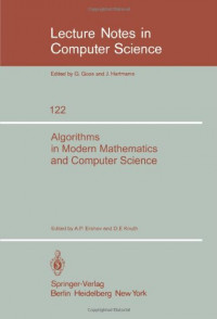 Algorithms in Modern Mathematics and Computer Science: Proceedings, Urgench