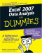 Excel 2007 Data Analysis For Dummies (Computer/Tech)