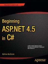Beginning ASP.NET 4.5 in C# (Beginning Apress)