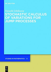 Stochastic Calculus of Variations for Jump Processes (de Gruyter Studies in Mathematics)