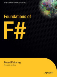 Foundations of F# (Expert's Voice in .Net)