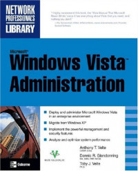 Microsoft Windows Vista Administration