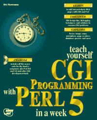 Teach Yourself Cgi Programming With Perl in a Week (Sams Teach Yourself)