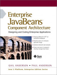 Enterprise JavaBeans Component Architecture: Designing and Coding Enterprise Applications