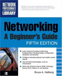 Networking, A Beginner's Guide, Fifth Edition (Networking Professional's Library)