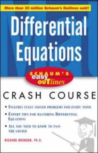 Schaum's Easy Outline Differential Equations