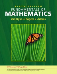 Fundamentals of Mathematics, Enhanced Edition (with Enhanced WebAssign 1-Semester Printed Access Card) (Available 2010 Titles Enhanced Web Assign)