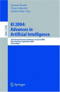 KI 2004: Advances in Artificial Intelligence: 27th Annual German Conference in AI, KI 2004, Ulm, Germany, September 20-24, 2004