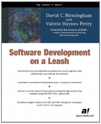 Software Development on a Leash (Expert's Voice)