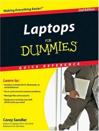 Laptops For Dummies Quick Reference (Computer/Tech)