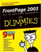 FrontPage 2003 All-in-One Desk Reference For Dummies (Computer/Tech)