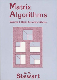 Matrix Algorithms, Volume I