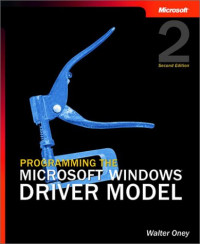 Programming the Microsoft Windows Driver Model, Second Edition