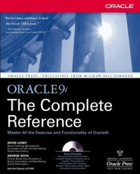 Oracle9i: The Complete Reference