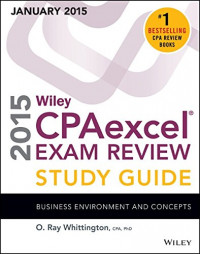 Wiley CPAexcel Exam Review 2015 Study Guide (January): Business Environment and Concepts (Wiley Cpa Exam Review)