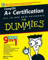 CompTIA A+ Certification All-In-One Desk Reference For Dummies (Computer/Tech)