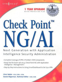 Check Point NG/AI: Next Generation with Application Intelligence Security Administration