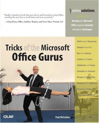Tricks of the Microsoft Office Gurus (Business Solutions)