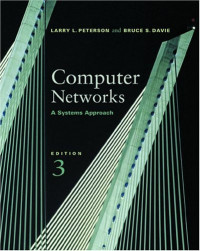 Computer Networks: A Systems Approach, 3rd Edition (The Morgan Kaufmann Series in Networking)