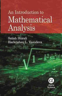 An Introduction to Mathematical Analysis