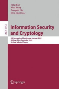 Information Security and Cryptology: 5th International Conference, Inscrypt 2009