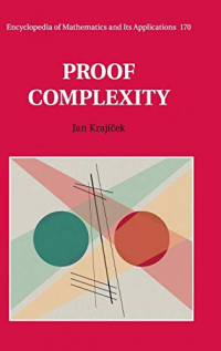Proof Complexity (Encyclopedia of Mathematics and its Applications)