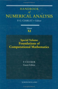 Handbook of Numerical Analysis : Special Volume: Foundations of Computational Mathematics