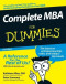 Complete MBA For Dummies (Business & Personal Finance)