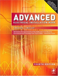 Advanced Electrical Installation Work, Fourth Edition