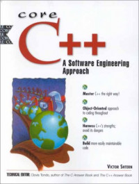 Core C++: A Software Engineering Approach