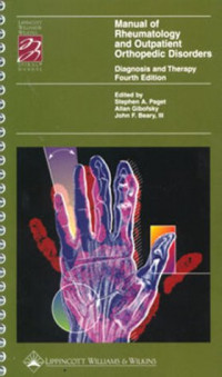 Manual of Rheumatology and Outpatient Orthopedic Disorders: Diagnosis and Therapy