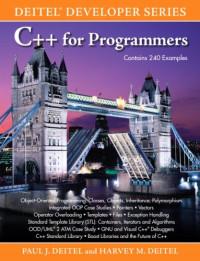 C+ + for Programmers (Deitel Developer Series)