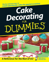 Cake Decorating For Dummies (Lifestyles Paperback)