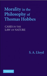 Morality in the Philosophy of Thomas Hobbes: Cases in the Law of Nature