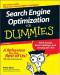 Search Engine Optimization For Dummies (Computer/Tech)