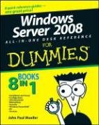 Windows Server 2008 All-In-One Desk Reference For Dummies (Computer/Tech)