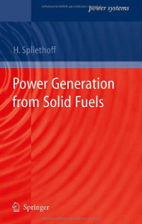 Power Generation from Solid Fuels (Power Systems)