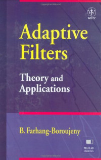 Adaptive Filters Theory and Applications