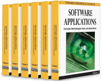 Software Applications: Concepts, Methodologies, Tools, and Applications (Premier Refence Source)