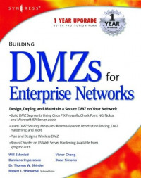 Building DMZs for Enterprise Networks