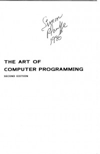 The Art of Computer Programming, Volume 2: Seminumerical Algorithms (2nd Edition)