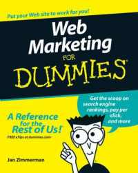 Web Marketing For Dummies (Computer/Tech)